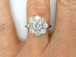 cluster engagement ring best 25 cluster engagement rings ideas on pretty