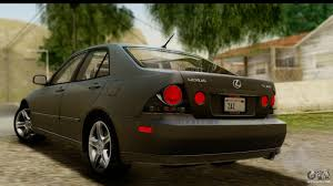tuned lexus is300 lexus is300 tunable for gta san andreas