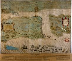 st map augustine map 1589 digital library