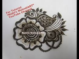 easy patch henna mehndi design tutorial for