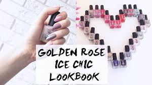 golden rose ice chic lookbook youtube