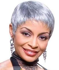 black women short grey hair straight grey bob haircut for black women cruckers
