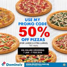 jobs at domino s pizza 50 off online order singapore good news 50 off all domino s pizza is back
