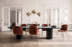 half moon kitchen table and chairs kitchen blower moon dining table tables from gubi architonic half