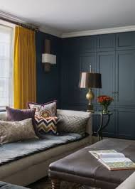 Mustard Colored Curtains Inspiration Mustard Yellow Curtains Give The Perfect Classic Pop To This
