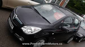 vauxhall agila 1 2 i 16v club black 2009 reg 5 door preston farm