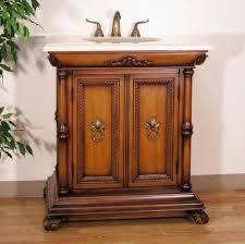 Wood Bathroom Cabinets Bathroom Cabinets Mahogany Double All Wood Bathroom Cabinets