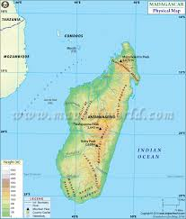 physical map of argentina map of madagasca
