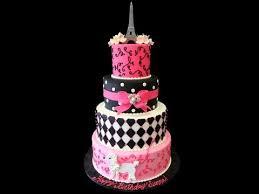 paris theme cake cake decorating great birthday cake ideas