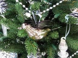 mercury glass bird ornament from gluckstein home decor