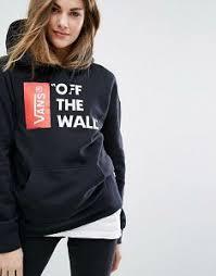 simple women vans oversized zip up hoodie grey vans hoodies