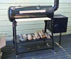 How To Build A Backyard Grill by How To Build A Reverse Flow Offset Smoker 7 Steps With Pictures