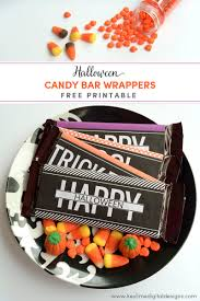 Gift Halloween by Halloween Candy Bar Wrappers Key Lime Digital Designs