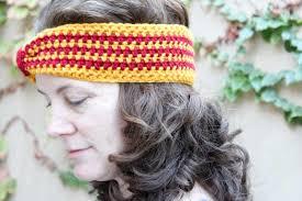 crochet ear warmer headband do it your freaking self hogwarts house crochet ear warmer do