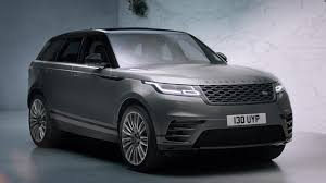 luxury range rover new range rover velar launches stunning 4th model to record