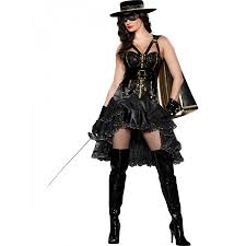 delux halloween costumes zorro inspired costume for women beautiful bandida deluxe