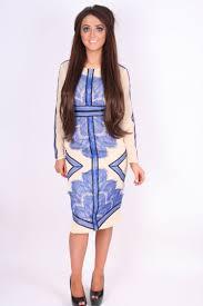blue u0026 lace midi dress clothing from dollywood boutique uk