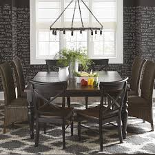 kitchen table bassett pedestal dining table solid wood dining