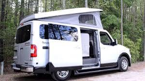 nissan titan pop up camper roadtrek n6 active van video mp4 youtube