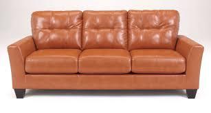 Orange Sofa Living Room by Buy Ashley Furniture 2700238 Paulie Durablend Orange Sofa