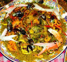 cuisine senegalaise paëlla façon sénégalaise o menu du jour