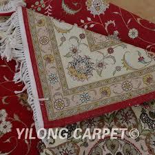 yilong 6 u0027x9 u0027 iran handmade wool red thick carpet exquisite chinese