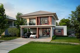Charismatic Two Story Modern House Collection  Pinoy House Designs