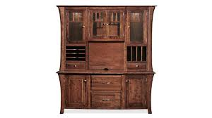 Cherry Wood Computer Armoire by Solid Wood Desk Hutches Gallery Furniture