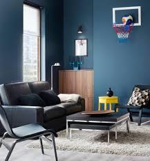 Wohnzimmer Braun Rot Gemütliche Innenarchitektur Gemütliches Zuhause Küche Blau