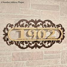 inspire home decor home decor fetching address plaques for house with laroyal gold