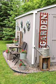 best 25 shed landscaping ideas on pinterest storage sheds
