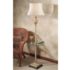Traditional Table Lamps Floor Lamp With Tabel Attached