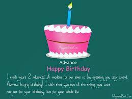 the 25 best advance happy birthday ideas on pinterest happy