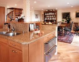 two level kitchen island designs a two tier kitchen island more like 3 tier kitchen ideas