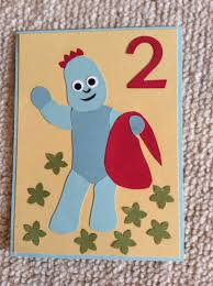 Homemade Card Ideas by Homemade Igglepiggle In The Night Garden Birthday Card Child
