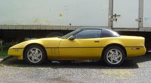 1984 corvette top speed curbside 1990 chevrolet corvette gm s deadly 9