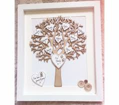 family tree frame personalised handmade by heidilouisacreative