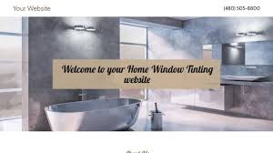on site window tinting home window tinting website templates godaddy