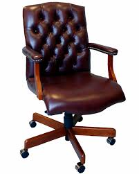 Furniture Interesting Home Depot Folding Chairs With Entrancing by Articles With Brown Leather Home Office Chair Tag Leather Home