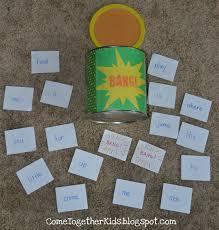 3x5 Index Card Template Word Come Together Kids Bang A Fun Flashcard Game
