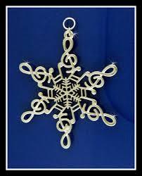 pewter note snowwondersâ snowflake ornament pendant