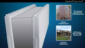 insulated concrete forms by reward wall systems youtube