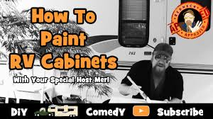 Rv Kitchen Cabinets Full Time Rv Living How To Paint Rv Kitchen Cabinets Deluxe Rv
