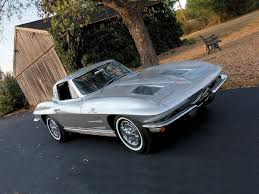 how many 63 split window corvettes were made 1963 chevrolet corvette sting featured