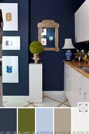 color inspiration navy and olive interiors by sewing room