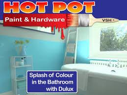 Bathroom Colours Dulux Paint Pot Paint And Hardware