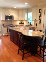 Kitchen Island With Table Extension by From The Rounded End Of The Island Great Seating Area
