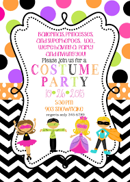 alluring costume party invitations free printable hd images for