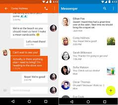 best sms app android brings android 5 0 messenger sms app to the play store