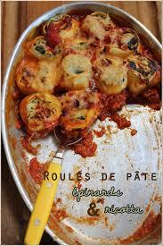 cuisine italienne cannelloni cannelloni aux épinards et ricotta mais façon oliver